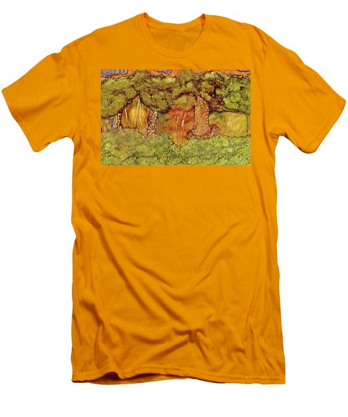 Sunset In The Forest Men's T-Shirt (Athletic Fit)
