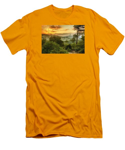 Sunset On Carmel Mountain Men's T-Shirt (Athletic Fit)