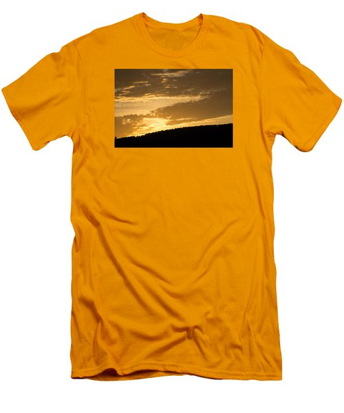 Sunset On Hunton Lane #4 Men's T-Shirt (Athletic Fit)