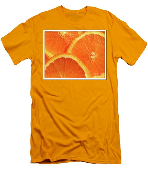 Sweet And Juicy Men's T-Shirt (Slim Fit) by Mariarosa Rockefeller