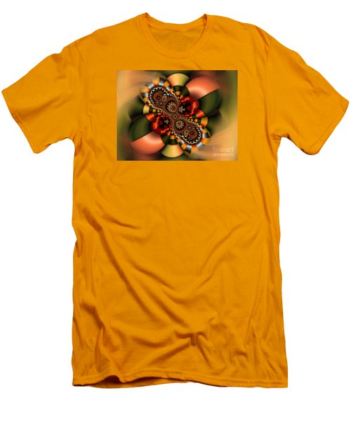 Men's T-Shirt (Slim Fit) featuring the digital art Sweets by Karin Kuhlmann