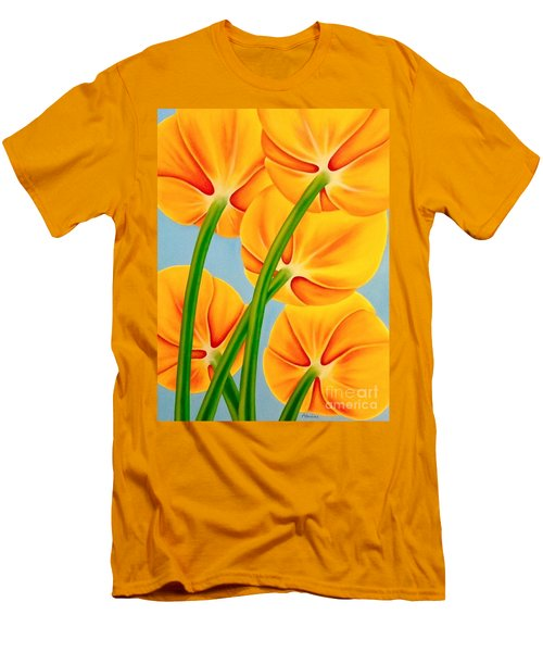 Tangerine Men's T-Shirt (Athletic Fit)