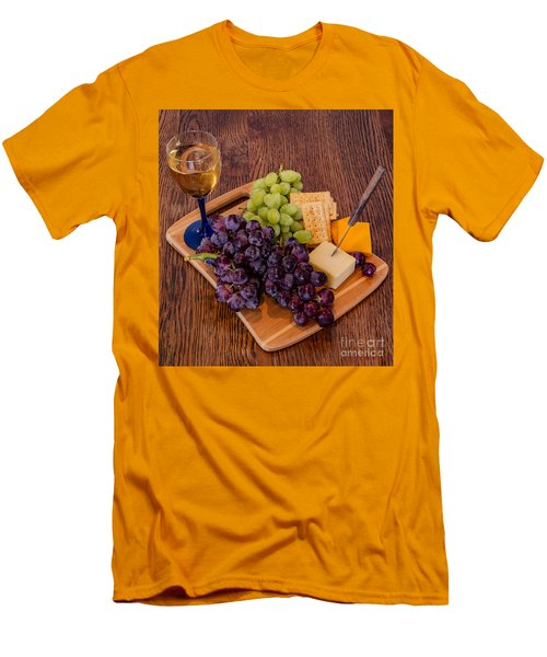 Taste Of The Grape Men's T-Shirt (Athletic Fit)