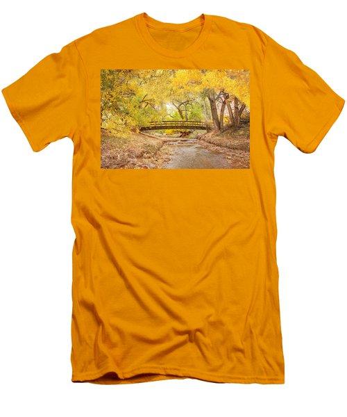 Teasdale Bridge Men's T-Shirt (Athletic Fit)
