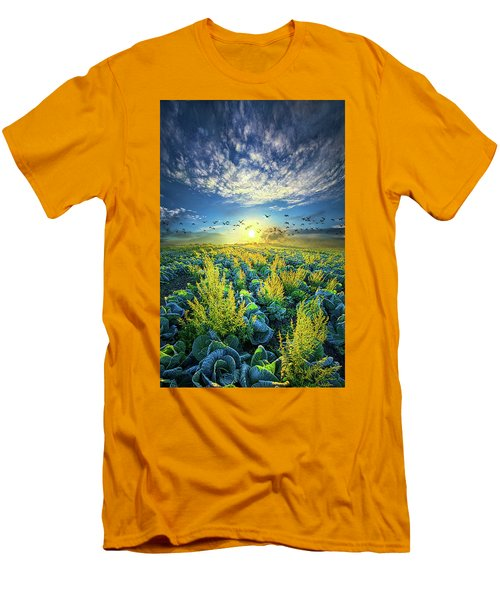 That Voices Never Shared Men's T-Shirt (Slim Fit) by Phil Koch