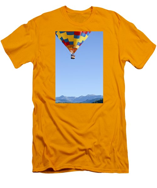 The Air Up There... Men's T-Shirt (Slim Fit) by Kevin Munro