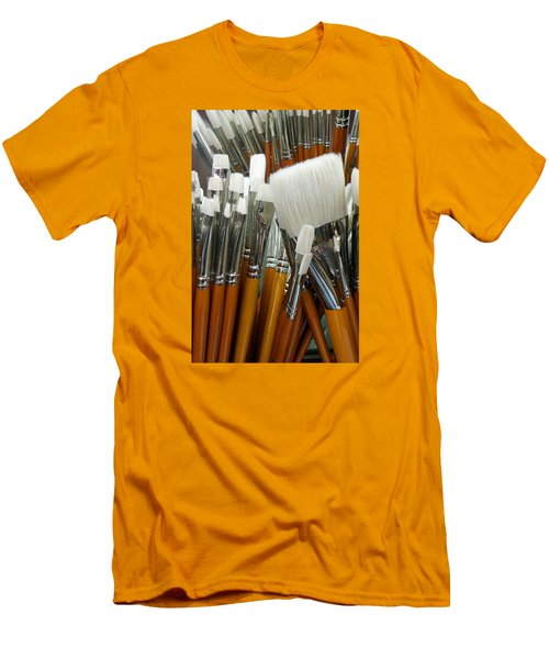The Artist In The Brush 2 Men's T-Shirt (Athletic Fit)