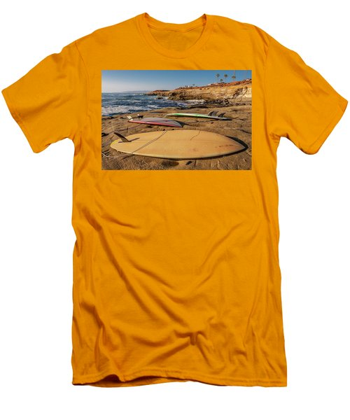 The Boards Men's T-Shirt (Slim Fit) by Peter Tellone