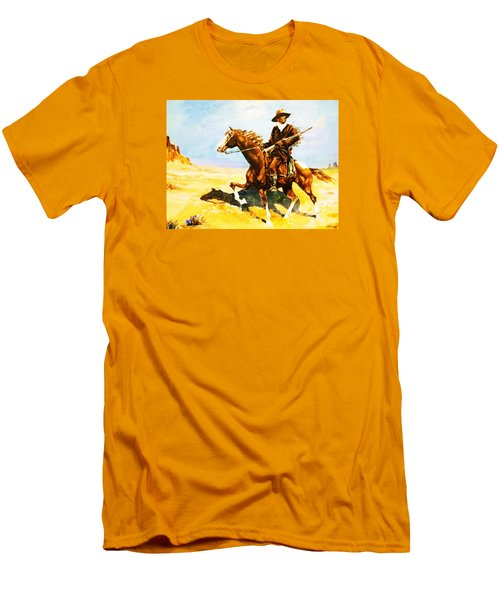 The Cavalry Scout Men's T-Shirt (Slim Fit)