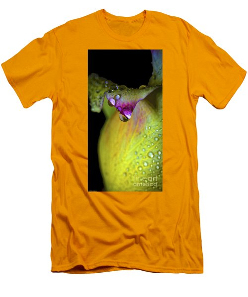 The Color Of Rain Men's T-Shirt (Slim Fit) by Mitch Shindelbower