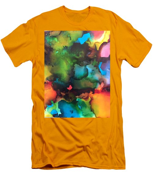 The Color Wheel Men's T-Shirt (Athletic Fit)