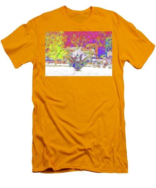 The Cube Men's T-Shirt (Athletic Fit)