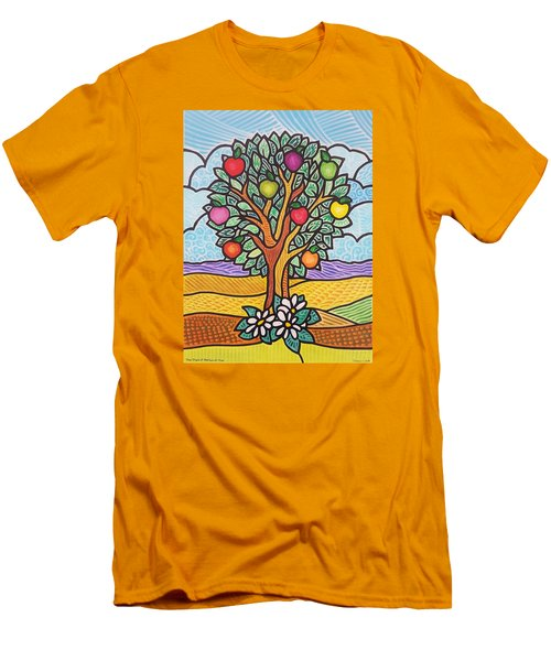 The Fruit Of The Spirit Tree Men's T-Shirt (Athletic Fit)