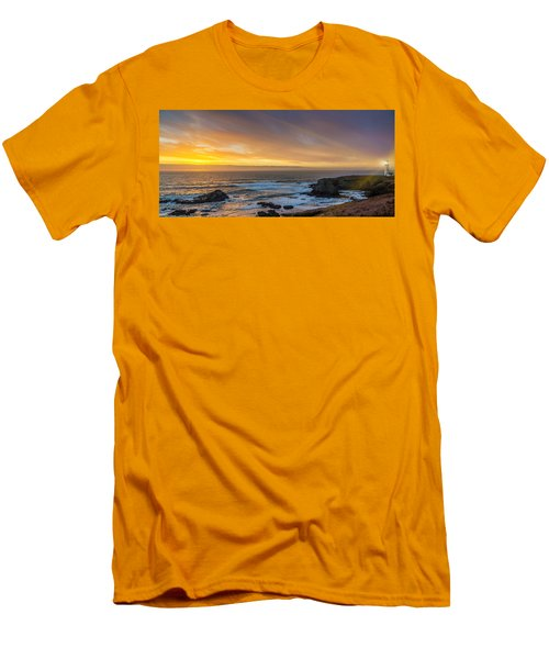 The Long View Men's T-Shirt (Slim Fit) by James Heckt