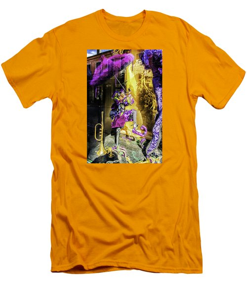 The Mardi Gras Jester Men's T-Shirt (Athletic Fit)