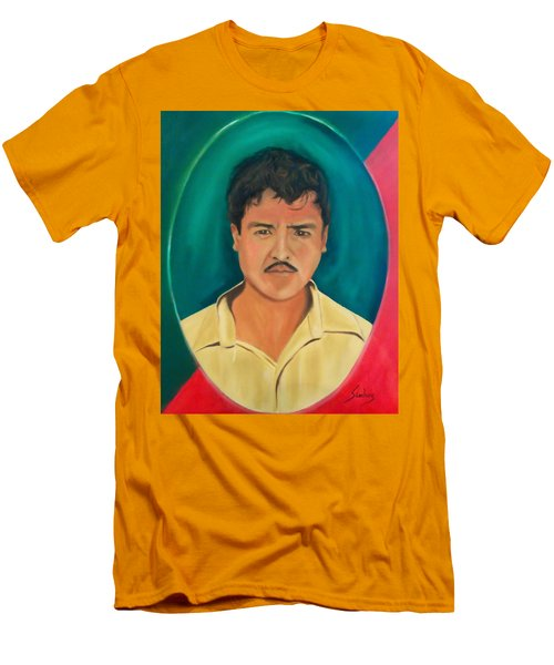 The Mexican Men's T-Shirt (Slim Fit) by Manuel Sanchez