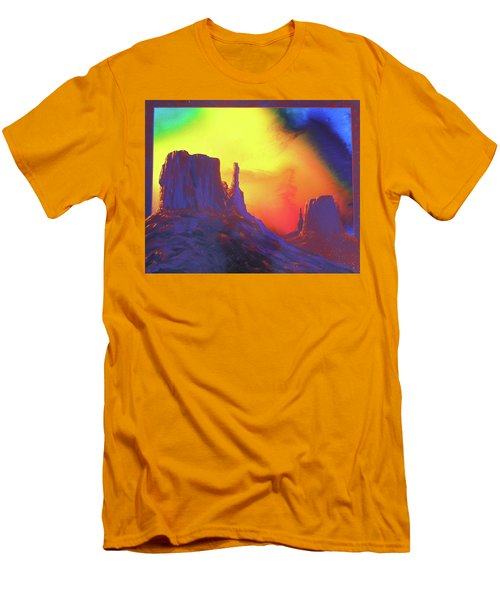 The Mittens , Psalm 19 Men's T-Shirt (Slim Fit) by Alan Johnson