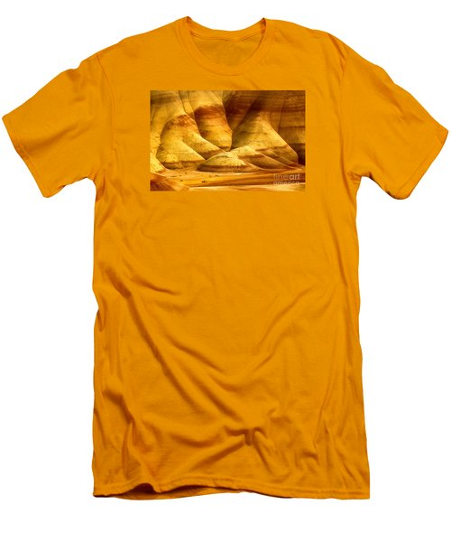 The Painted Hills Men's T-Shirt (Slim Fit) by Michael Cinnamond