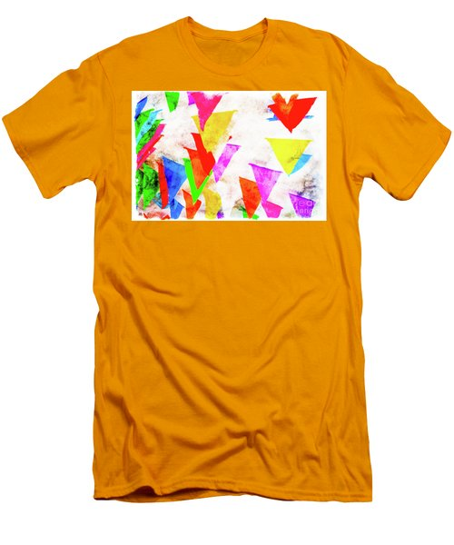 The Pennants At Mango Cafe Men's T-Shirt (Athletic Fit)