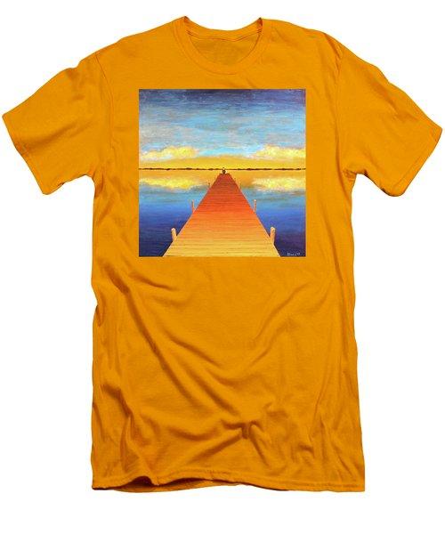 The Pier Men's T-Shirt (Slim Fit) by Thomas Blood