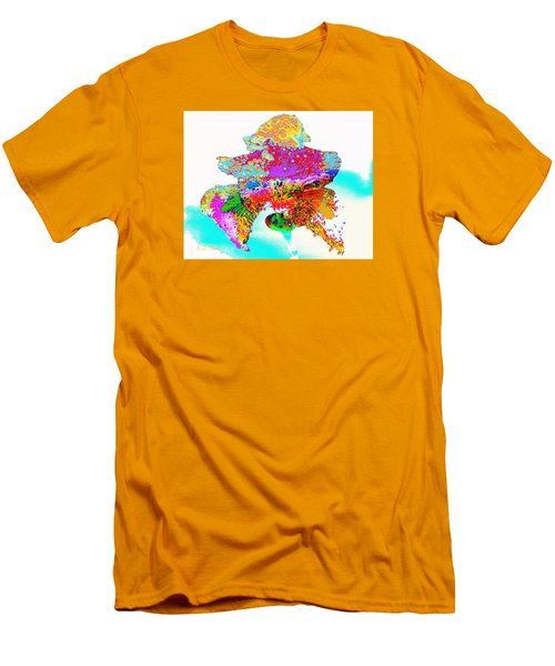 The Rainbow Iris Men's T-Shirt (Athletic Fit)