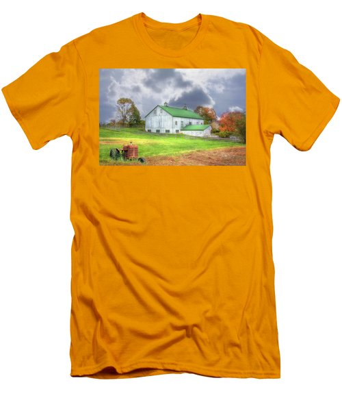 The Storms Coming Men's T-Shirt (Slim Fit) by Sharon Batdorf