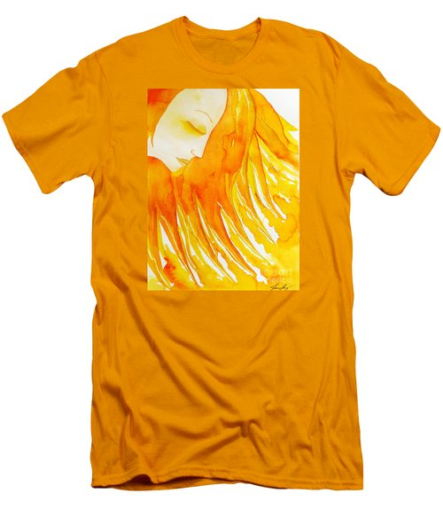 The Sun Goddess Men's T-Shirt (Athletic Fit)