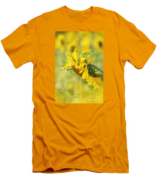 The Sunflower Men's T-Shirt (Slim Fit) by Lila Fisher-Wenzel