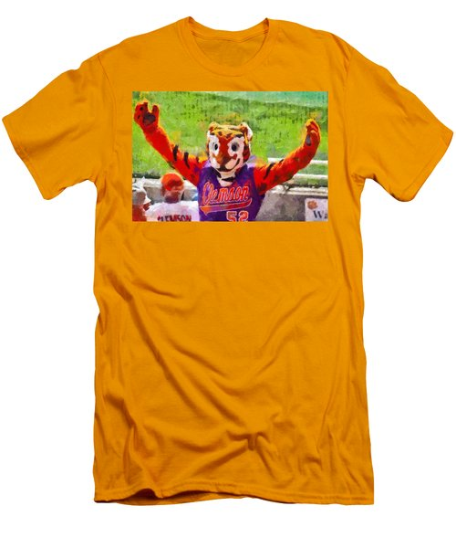 The Tiger Men's T-Shirt (Slim Fit) by Lynne Jenkins