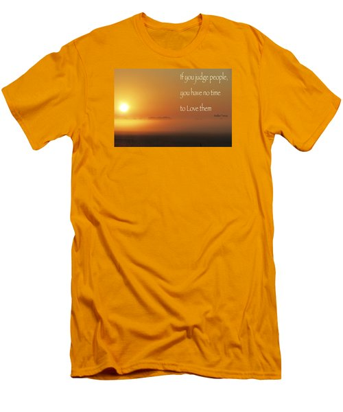 Men's T-Shirt (Slim Fit) featuring the photograph Time Adusted by David Norman