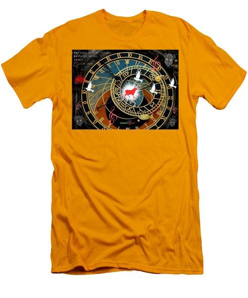 Time Stops Men's T-Shirt (Athletic Fit)