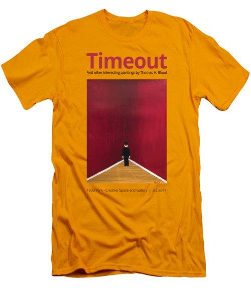 Timeout T-shirt Men's T-Shirt (Athletic Fit)