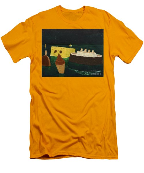 Titanic's Birthday Men's T-Shirt (Athletic Fit)