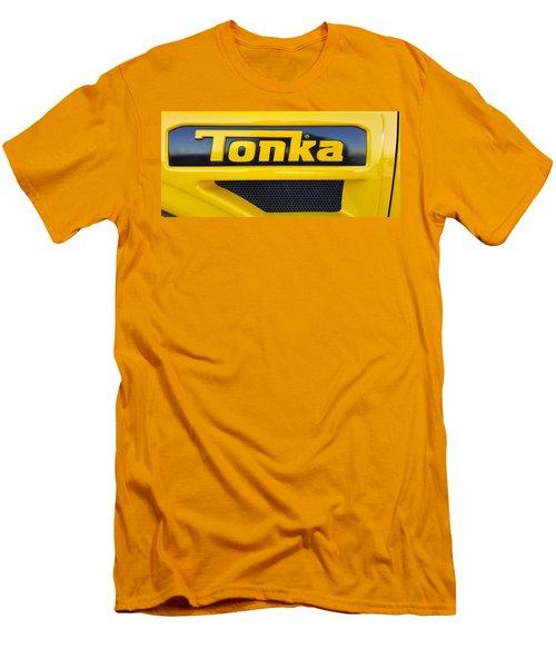 Tonka Truck Logo Men's T-Shirt (Athletic Fit)