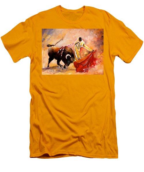 Toro Acuarela Men's T-Shirt (Athletic Fit)