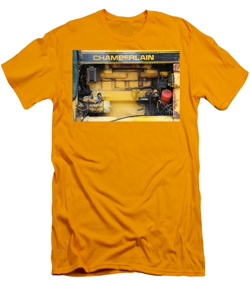 Men's T-Shirt (Slim Fit) featuring the photograph Tractor Engine Iv by Stephen Mitchell