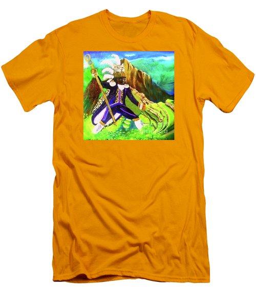 Tupac Amaru II Men's T-Shirt (Slim Fit) by Talisa Hartley