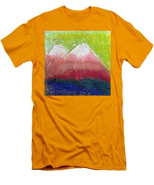 Twin Peaks II Men's T-Shirt (Slim Fit) by Phil Strang