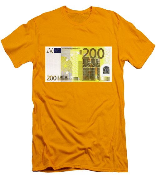 Two Hundred Euro Bill Men's T-Shirt (Athletic Fit)