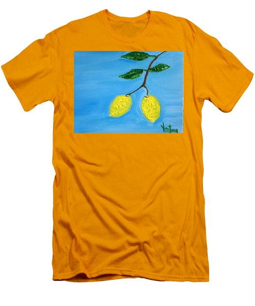 Two Lemons For Karen Men's T-Shirt (Athletic Fit)