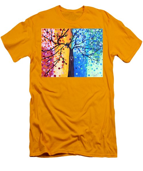 Two Moments Men's T-Shirt (Athletic Fit)