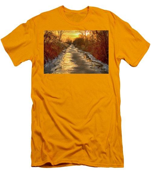 Under The Golden Sky Men's T-Shirt (Athletic Fit)
