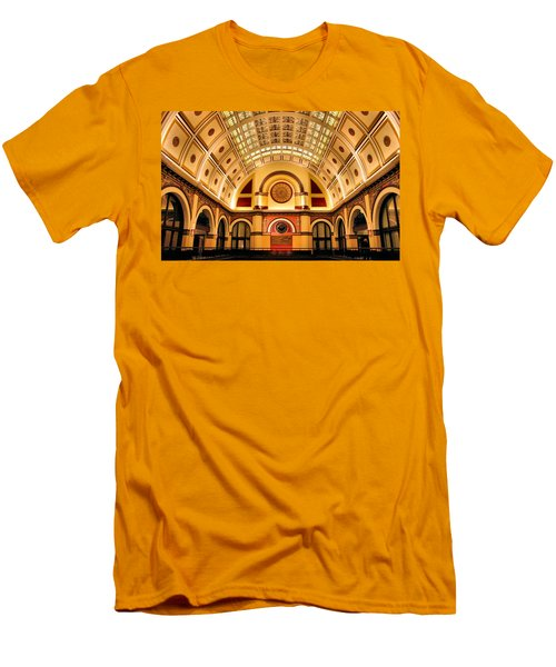 Union Station Balcony Men's T-Shirt (Athletic Fit)