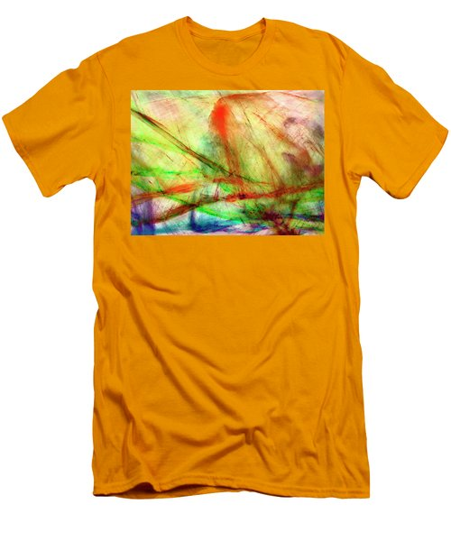 Untitled #140922, From The Soul Searching Series Men's T-Shirt (Athletic Fit)