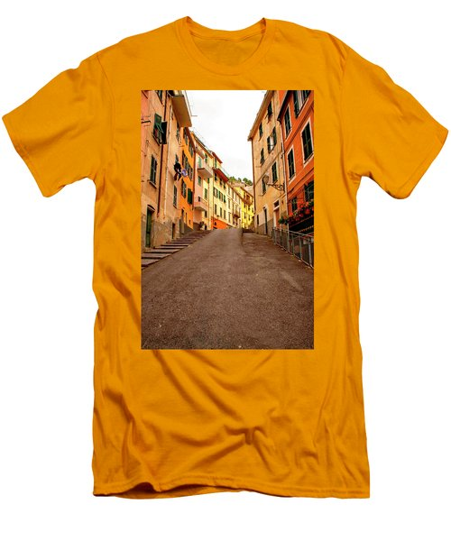 Uphill Italian Style Men's T-Shirt (Athletic Fit)