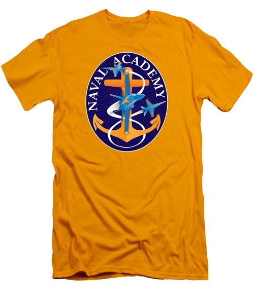 Usna Anchors Aweigh Fouled Anchor Men's T-Shirt (Athletic Fit)