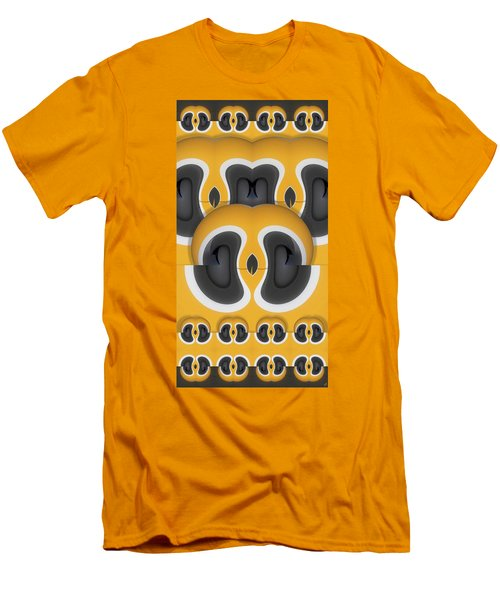 Variation In Orange Men's T-Shirt (Athletic Fit)