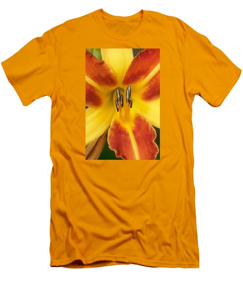 Vibrant Lilly Men's T-Shirt (Slim Fit) by Tiffany Erdman