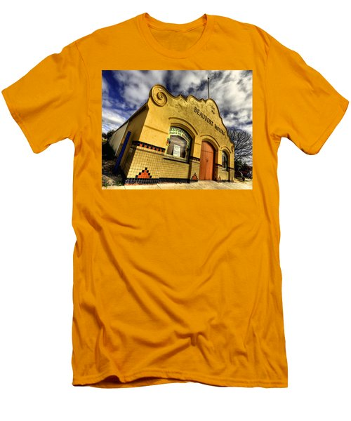 Men's T-Shirt (Slim Fit) featuring the photograph Vintage Gem by Wayne Sherriff