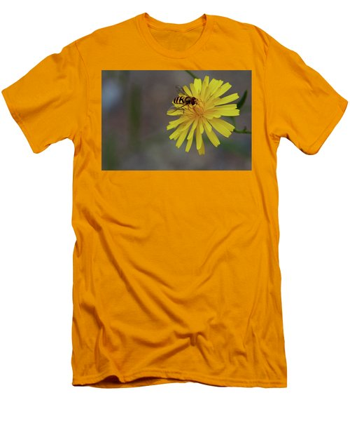 Men's T-Shirt (Slim Fit) featuring the photograph Visitor by Scott Holmes